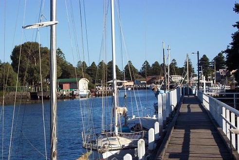 Port Fairy Wharf